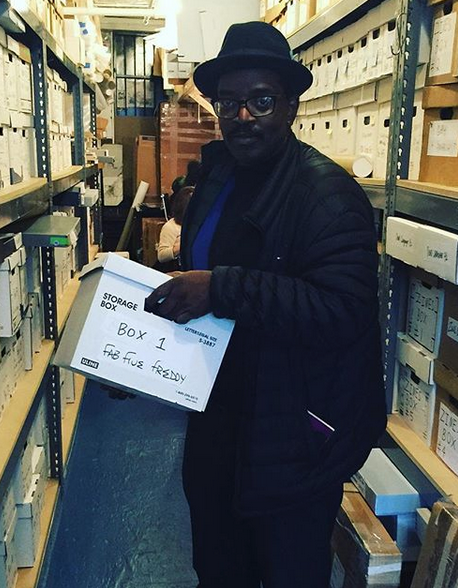 The Fab Five Freddy Archive at the Schomburg Center for Research in Black Culture