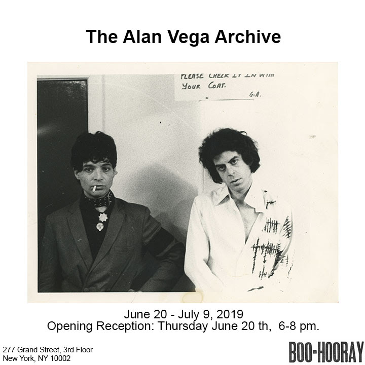 The Alan Vega Archive
