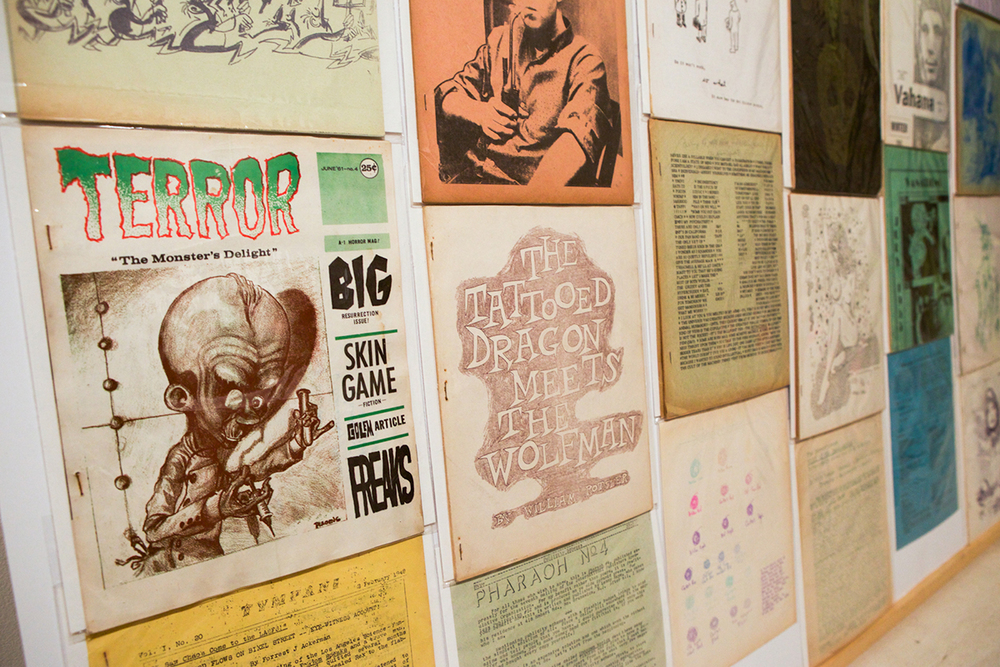 The Tattooed Dragon Meets the Wolfman: Lenny Kaye's Science Fiction Fanzines, 1941 - 1970