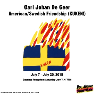 Carl Johan De Geer - American/Swedish Friendship (KUKEN!)