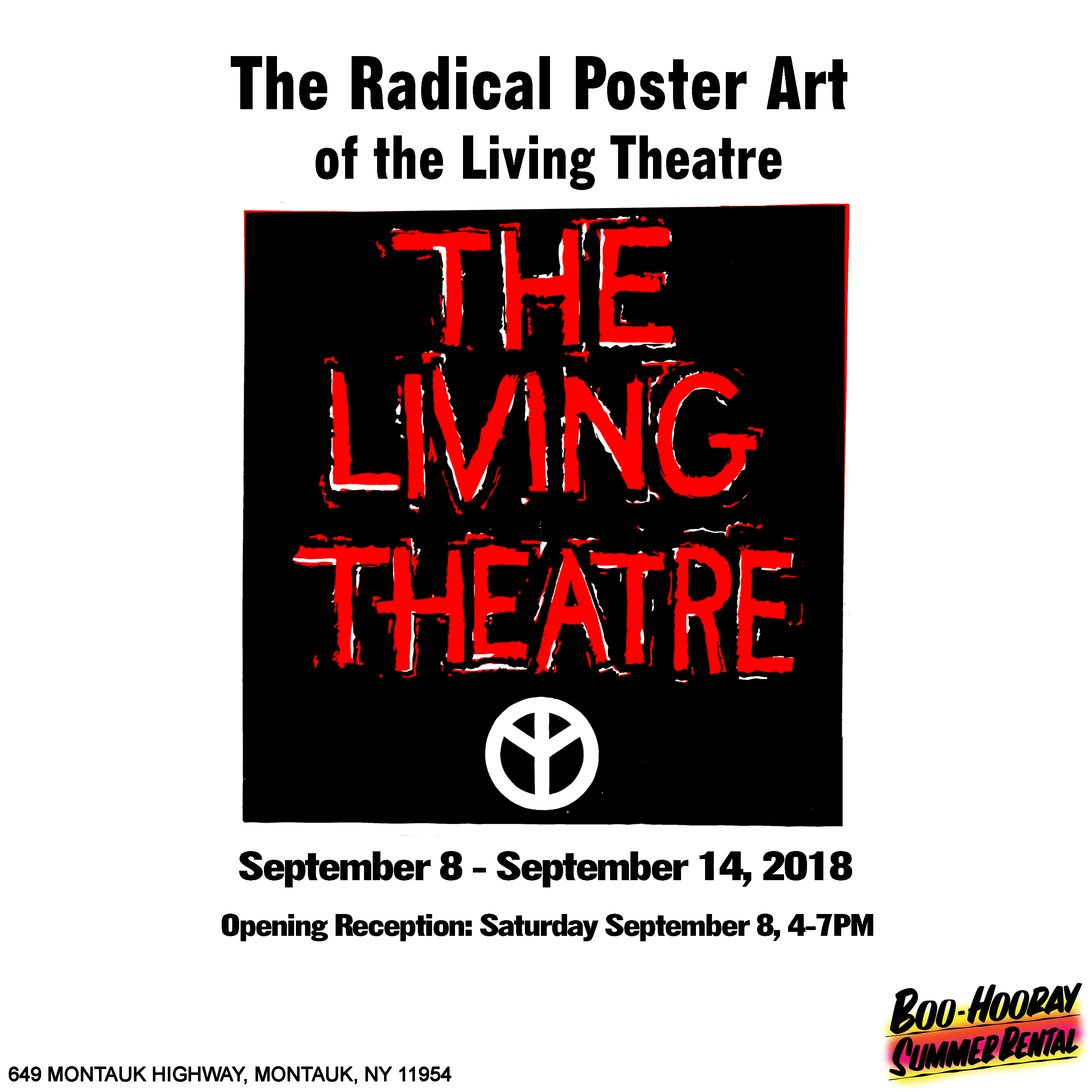 The Radical Poster Art of the Living Theatre