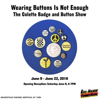Wearing Buttons Is Not Enough - The Colette Badge and Button Show