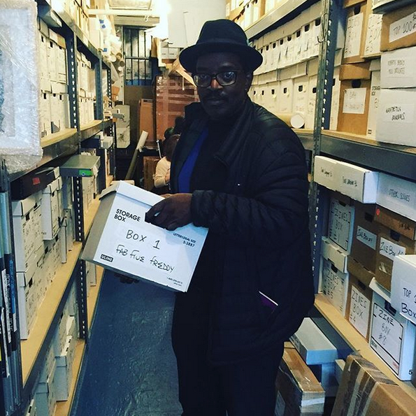 The Fab 5 Freddy Archive at the Schomburg Center for Research in Black Culture