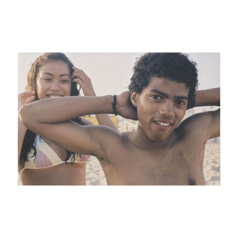 Untitled (Girl and Boy at the Beach). Larry Clark.