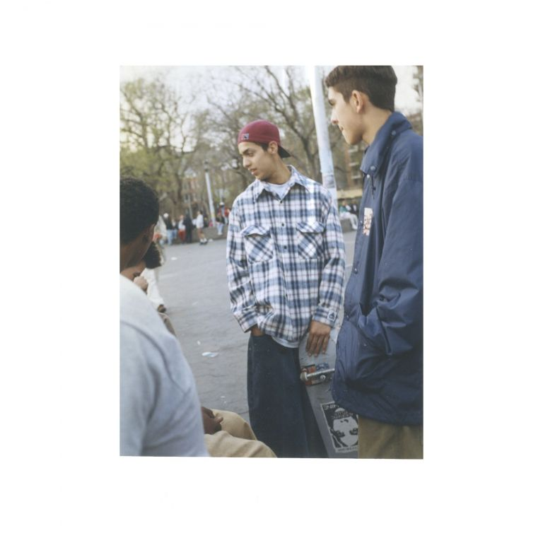 Untitled (Kids in Park with Skateboard). Larry Clark.