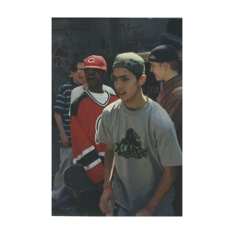 Untitled (Harold Hunter and Others Skating). Larry Clark.