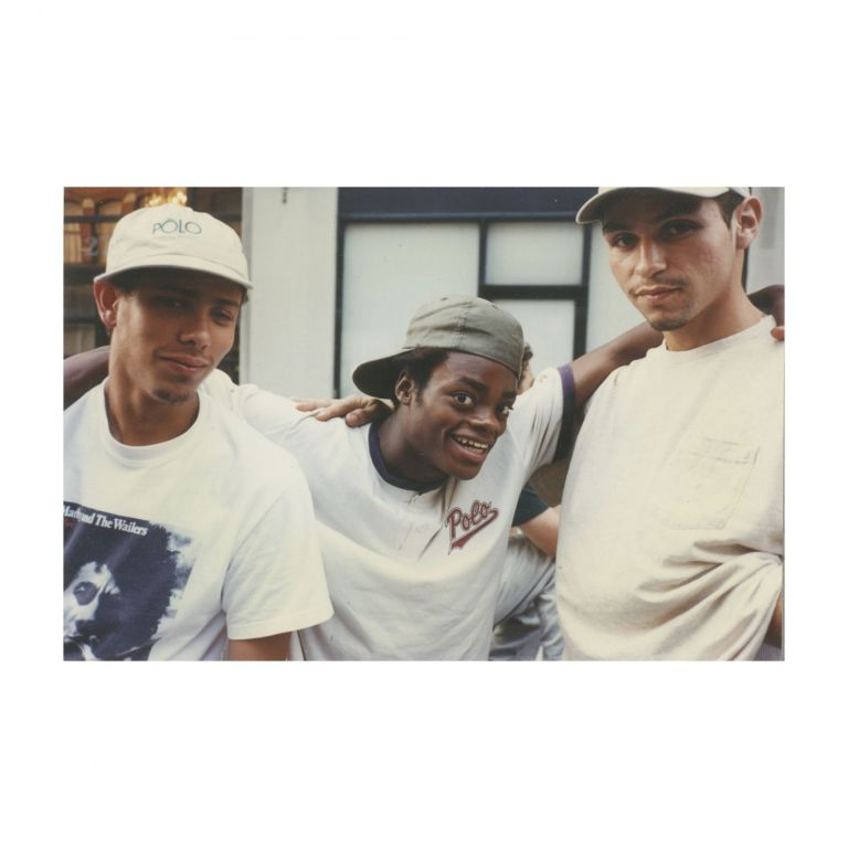 Untitled (Harold Hunter in between Two Boys). Larry Clark.