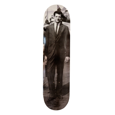 LARRY CLARK 70TH BIRTHDAY SKATEBOARD DECK. BOO-HOORAY / Larry Clark.