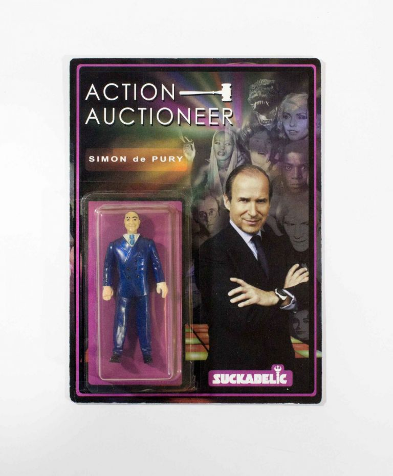 Simon de Pury, Action Auctioneer. Suckadelic.