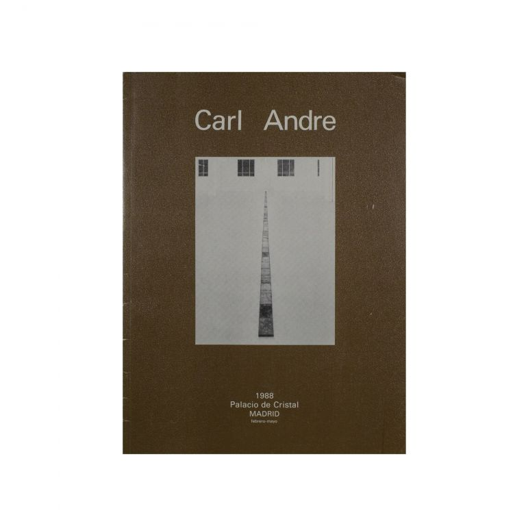 Carl Andre. Carl Andre.