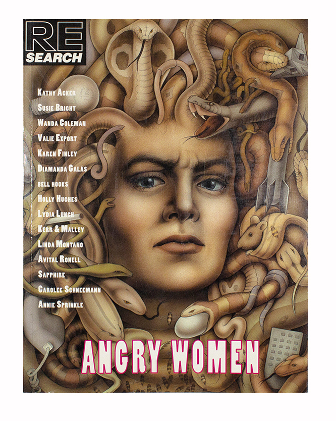 RE/Search #13: Angry Women, V. Vale, eds Andrea Juno.