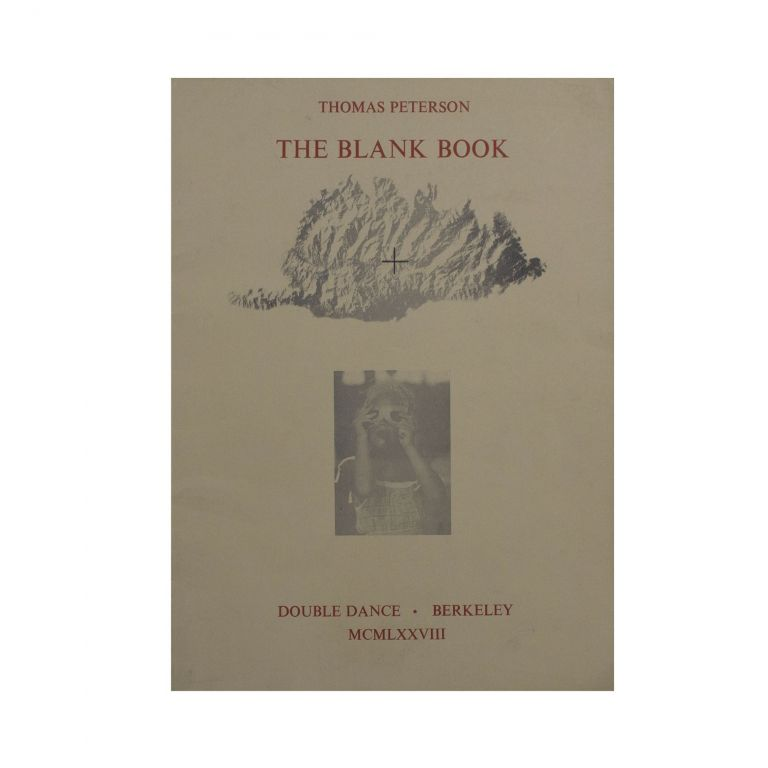 The Blank Book. Thomas Peterson.