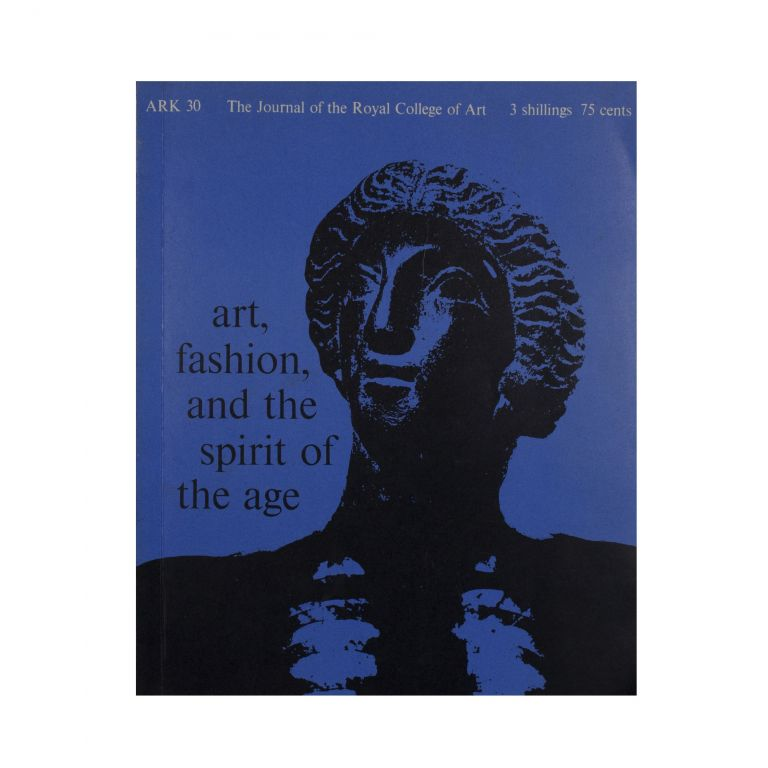 Ark 30: The Journal of the Royal College of Art. ed Stephen Cohn.