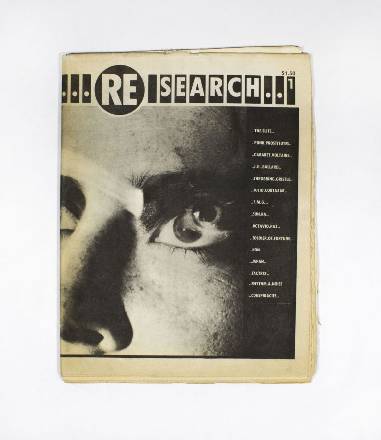 RE/Search #1. V. Vale.