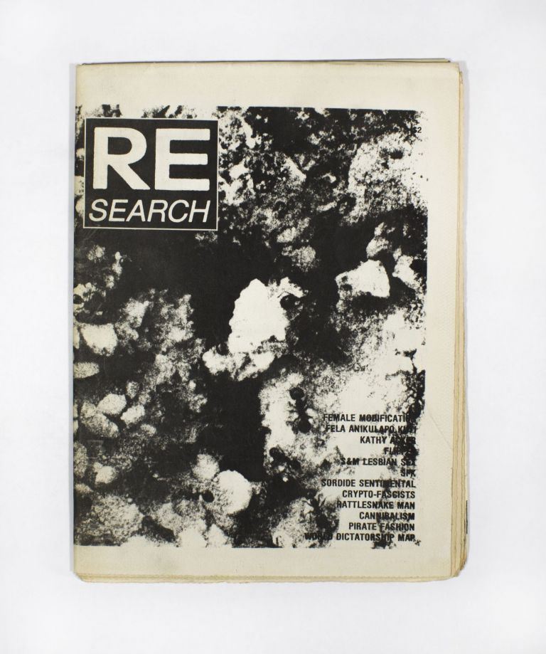RE/Search #3. V. Vale.