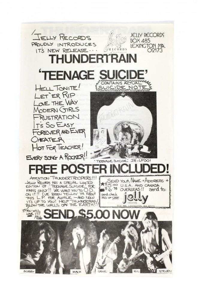 Jelly Records Promo-fliers