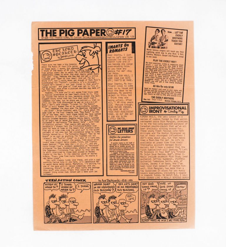 The Pig Paper #17. Gary Pig Gold.