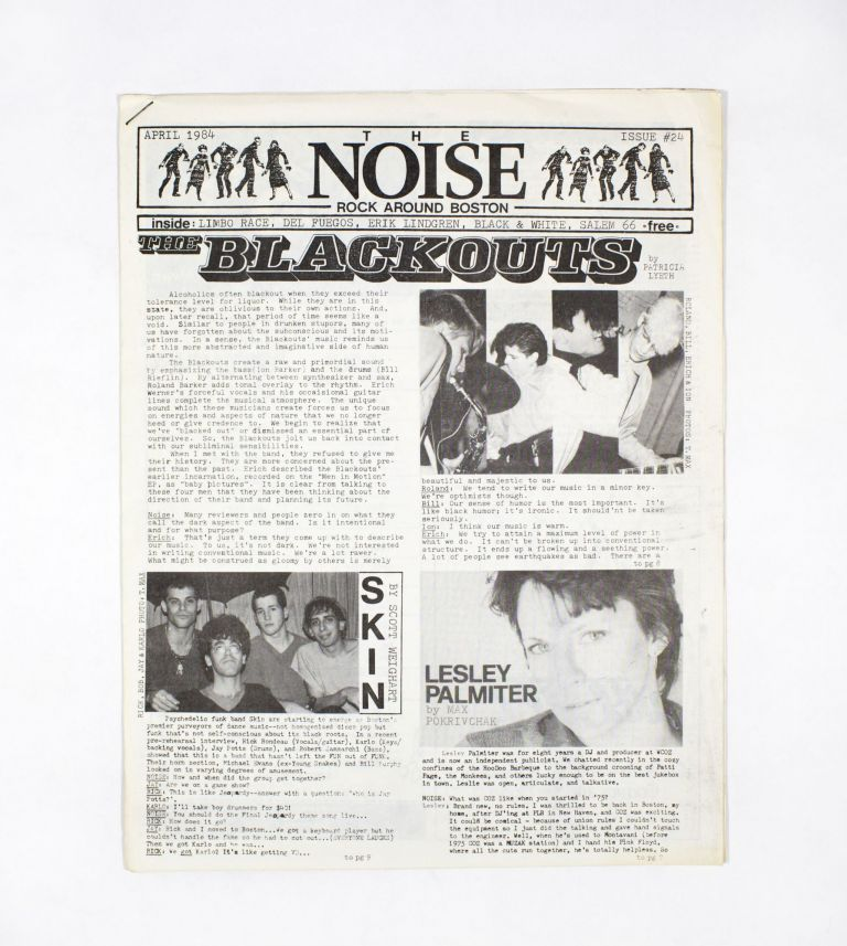 The NOISE – Rock Around Boston, Issue 24. T. Max.