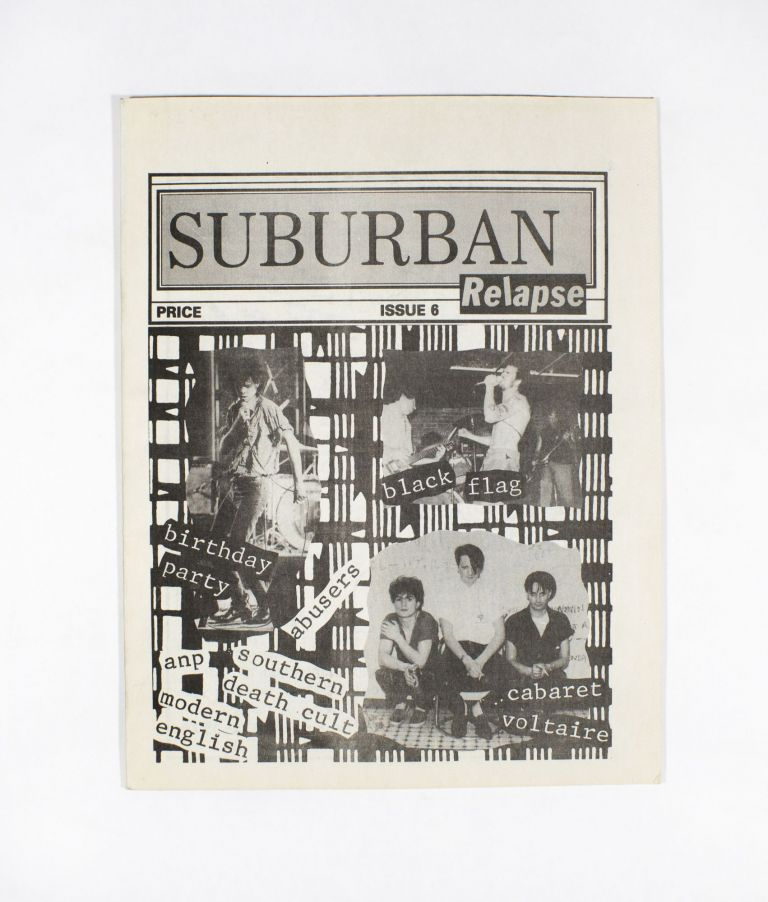 Suburban Relapse Issue 6. Barry Soltz.