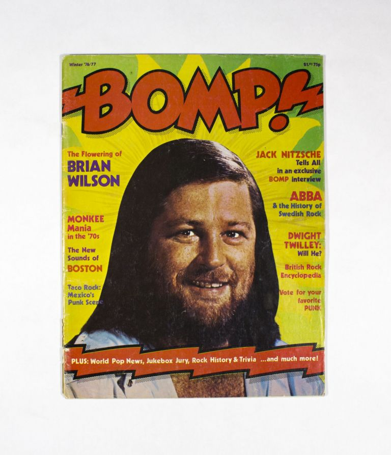 BOMP, Winter '76/77. Ken Barnes Greg Shaw.