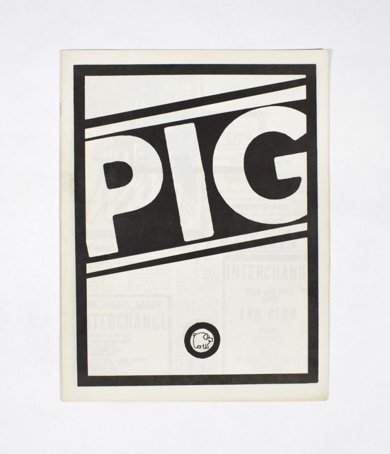 PIG PAPER, Number 13. Gary Pig Gold.