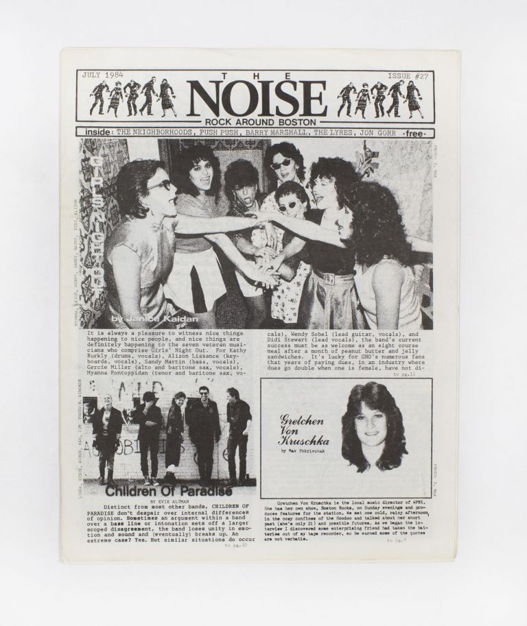 The NOISE – Rock Around Boston, Issue 27. T. Max.