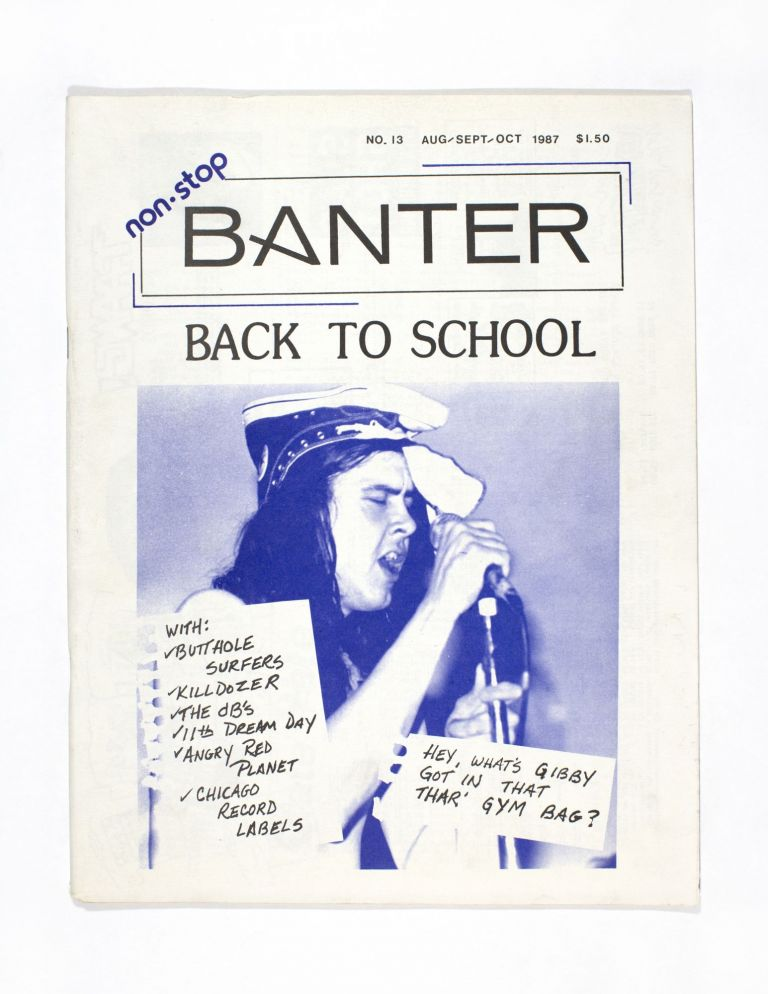 Non-Stop Banter No. 13: Back to School Issue. Debbie Novak.