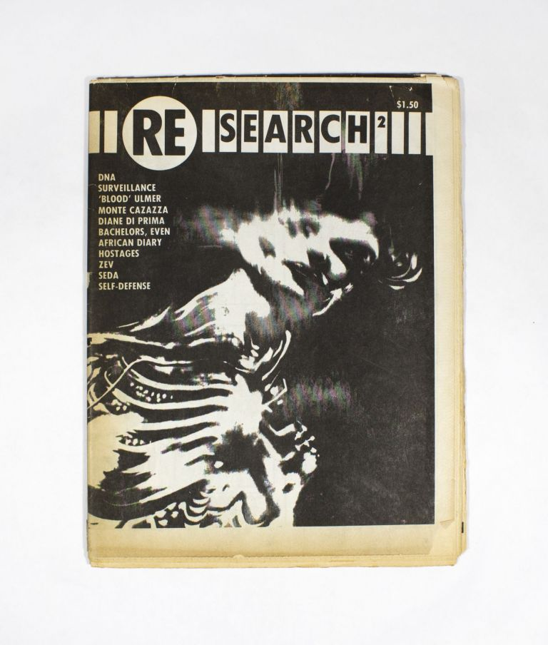 RE/Search #2 (1981). ed V. Vale.