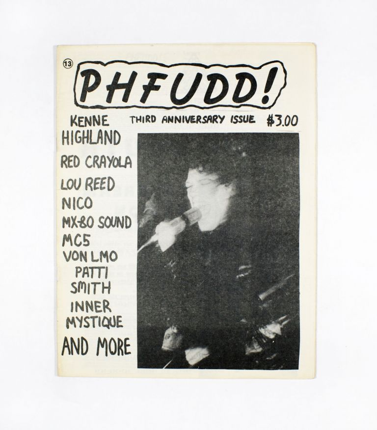PHFUDD! No. 13, January/February/March (1988). FUD, Christopher Stigliano.