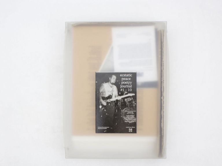 Ecstatic Peace Poetry Journal #1 - 10 Box Set. ed Thurston Moore.