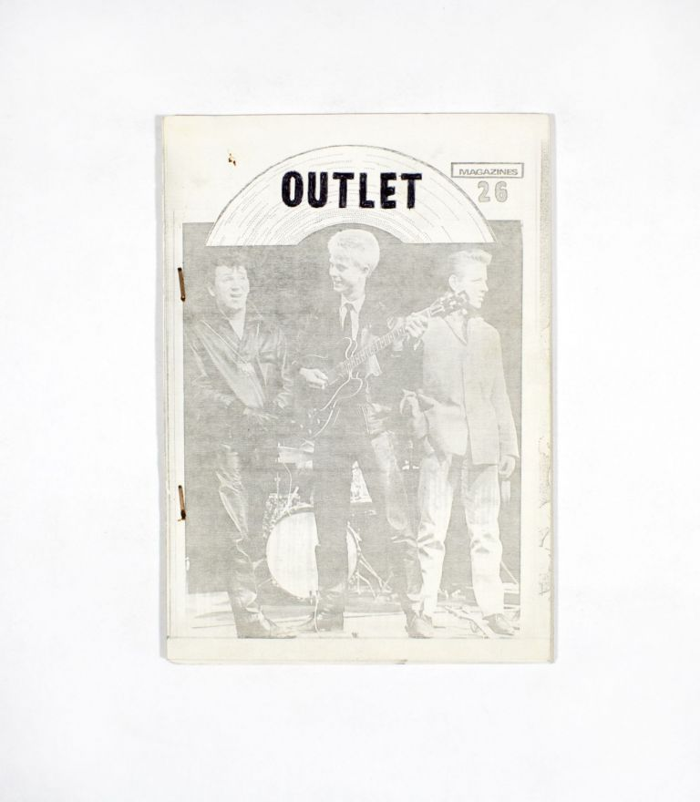 Outlet Magazines, No. 26. ed Trev Faull.