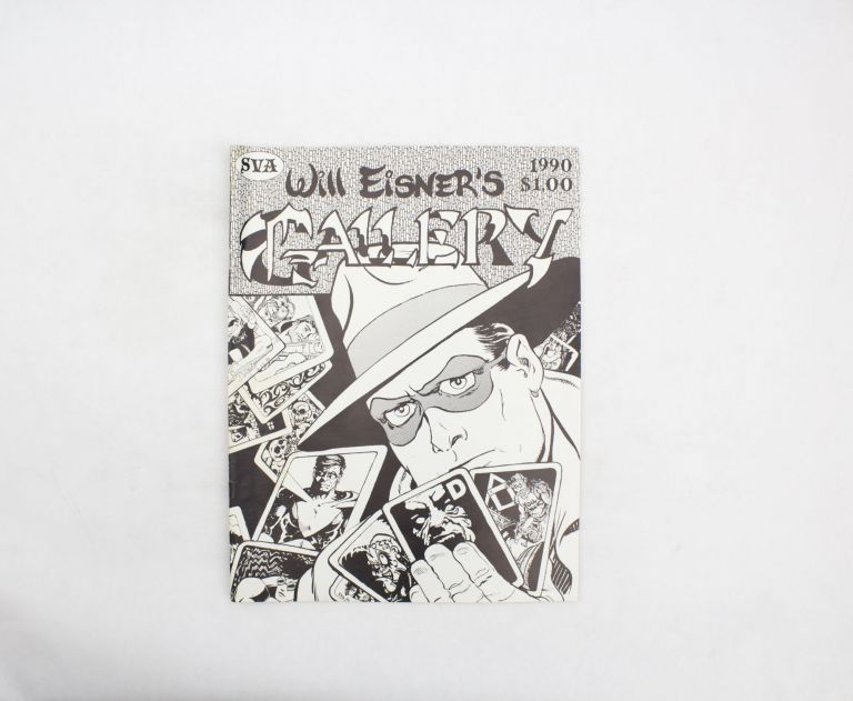 "Will Eisner's Gallery No. 17. Will Eisner, Thomas ""Digger"" Mesch."