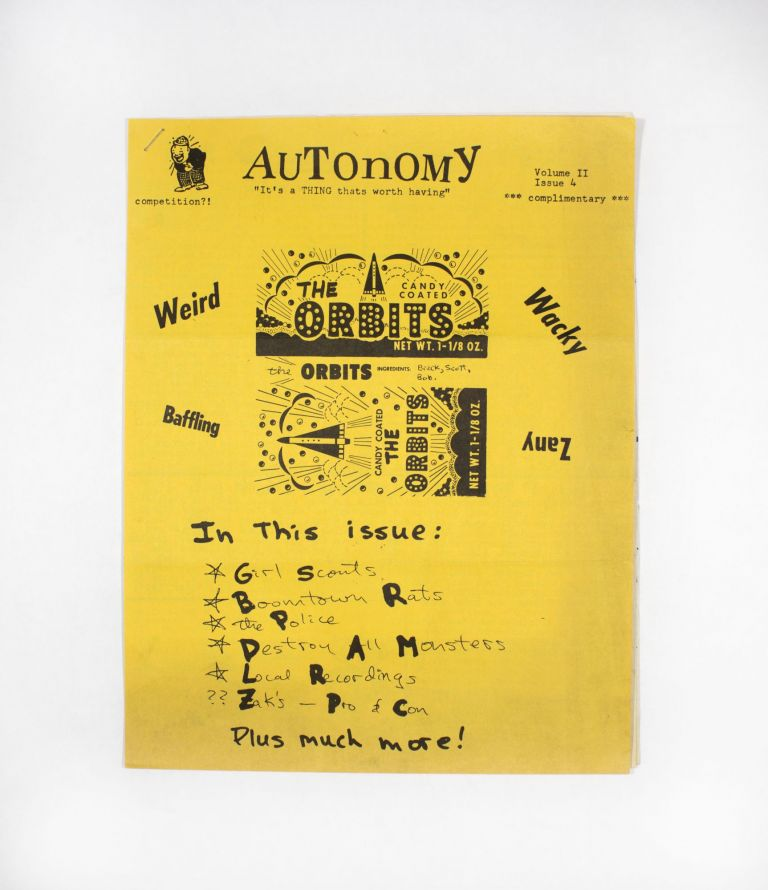 Autonomy Vol. II Issue 4. ed P. Powell.