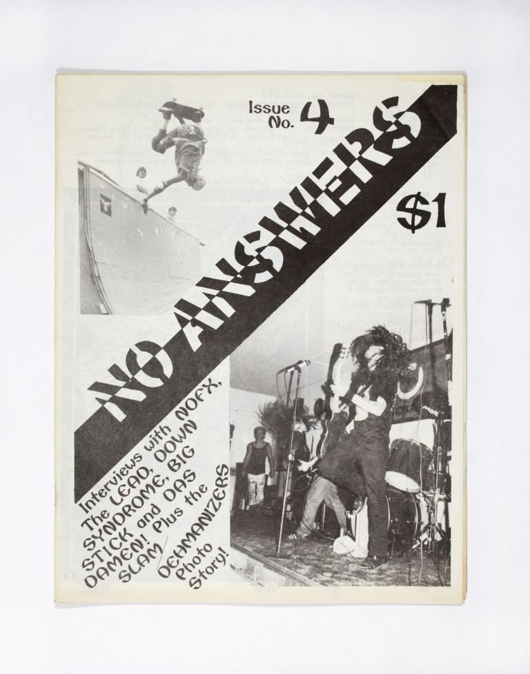 No Answers Issue No. 4. ed Kent McClard.