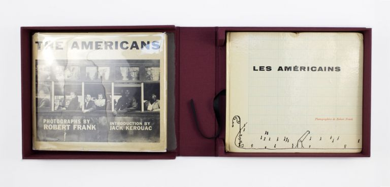 Les Américains [with] The Americans [Barney Rosset's Copies]. Robert Frank.