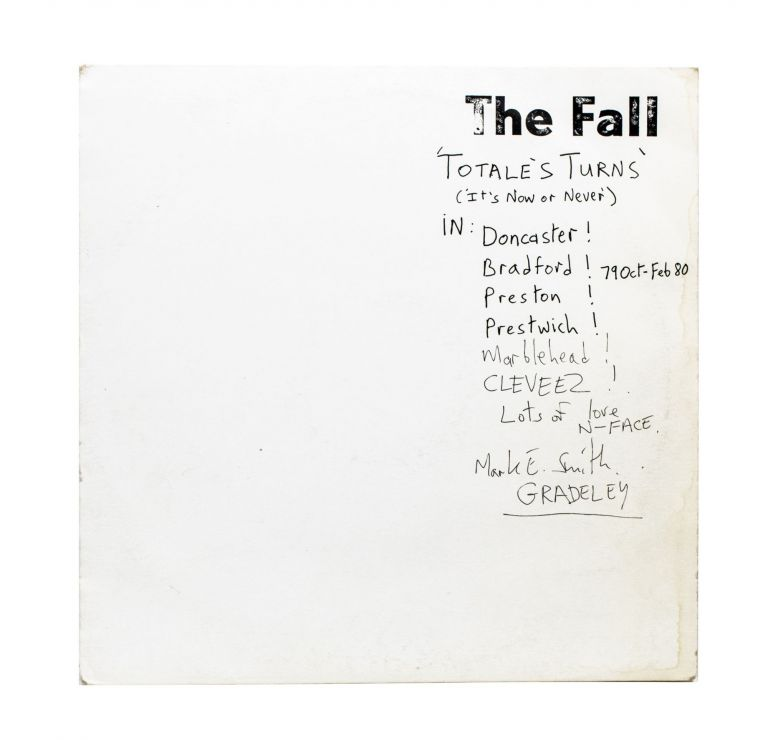 Totale's Turns (It's Now or Never). The Fall.