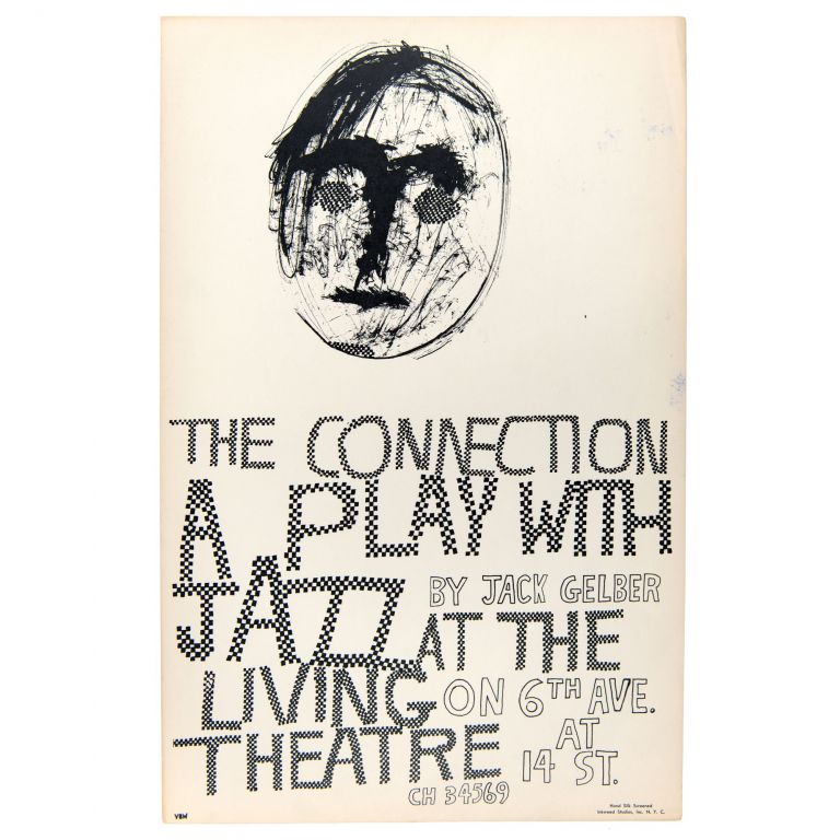 The Connection at The Living Theatre. Jack Gelber.