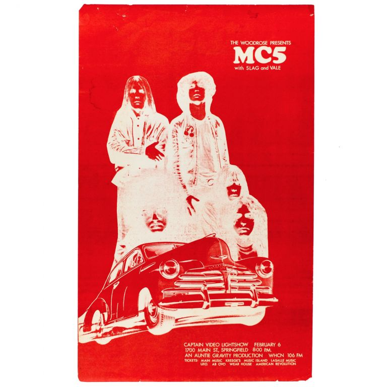 The Woodrose Presents MC5. MC5.