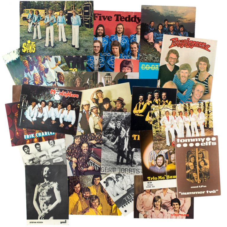 Archive of Postcards and Posters. Dansband.