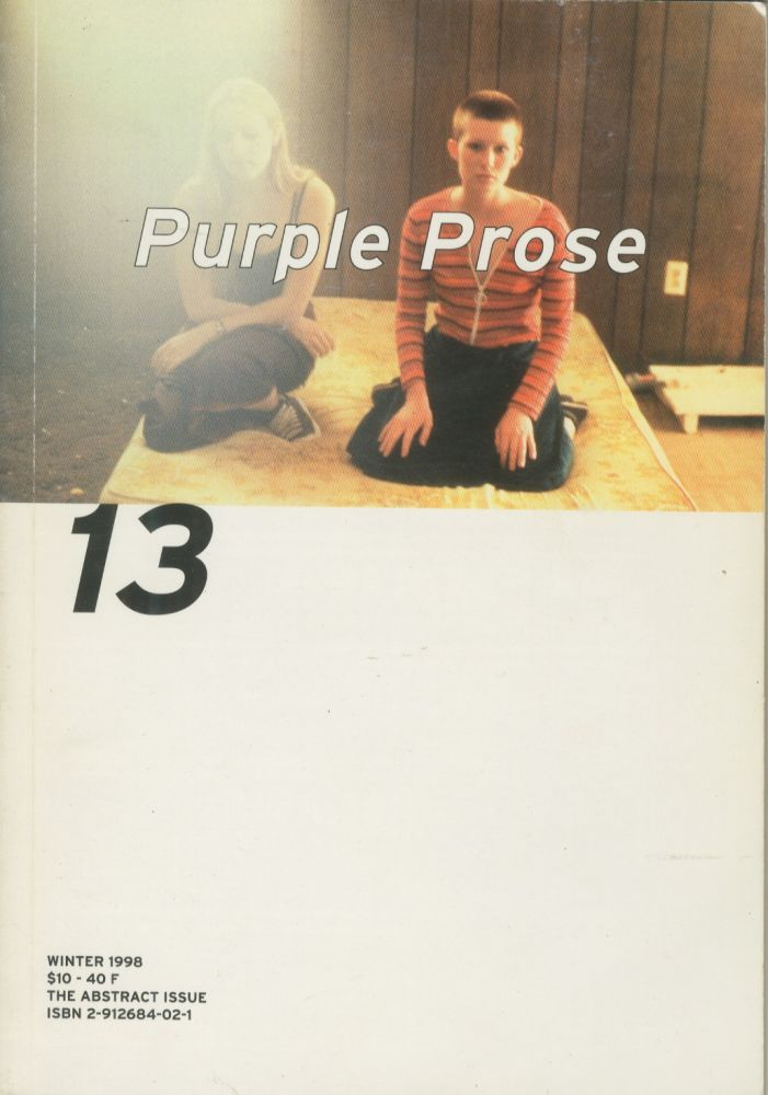 Purple Prose, no. 13