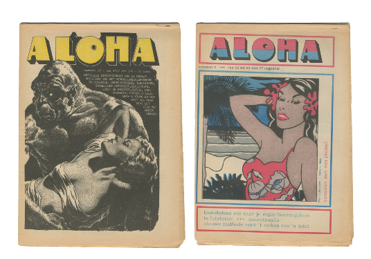Aloha Collection. ed Willem de Ridder.