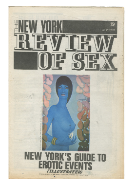 The New York Review of Sex & Politics Collection. S. Edwards, eds Steven Heller.