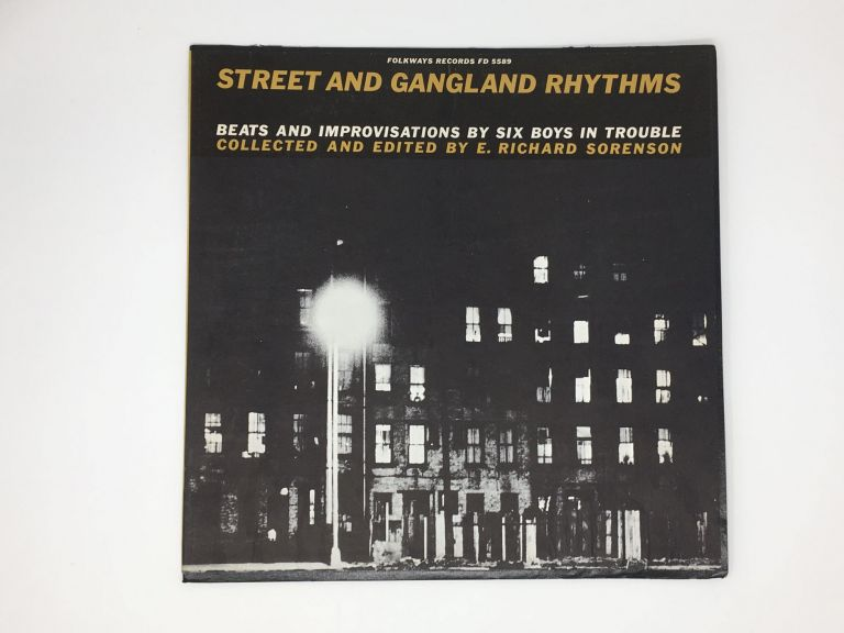 Beats and Improvisations by Six Boys in Trouble. Street, Gangland Rhythms.