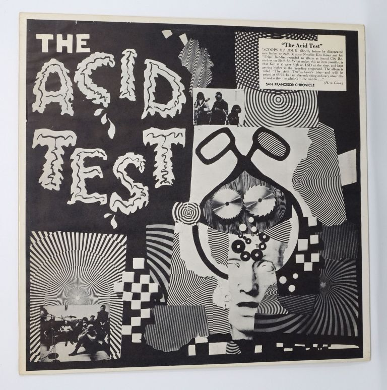 "The Acid Test. [with two 7""'s and Photographs]. Ken Kesey."