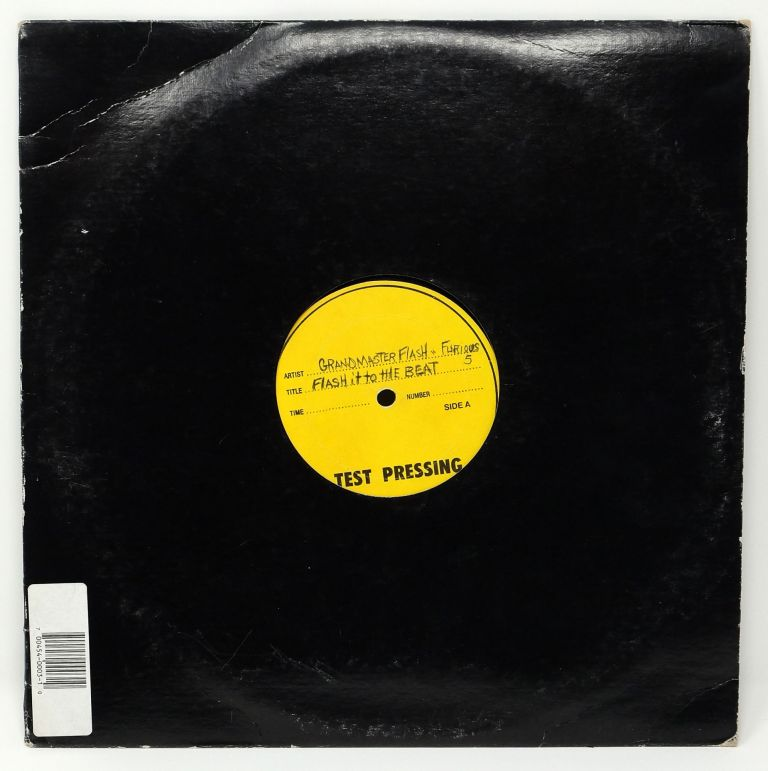 Flash it to the Beat / Fusion Beats Vol. 2 [Test Pressing]. Grandmaster Flash, The Furious Five.