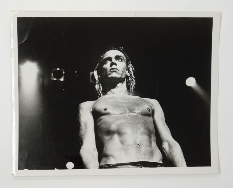 Iggy Pop. Leee Black Childers.