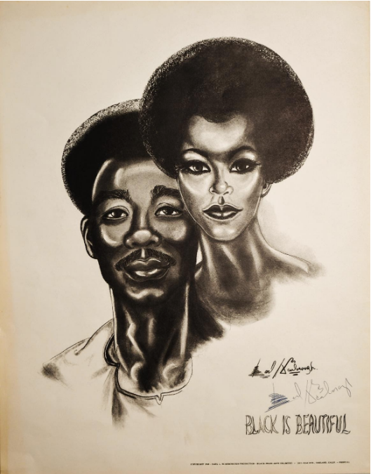 Black Is Beautiful poster. Earl L. Scarborough.