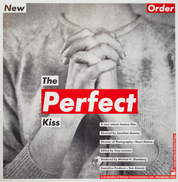 The Perfect Kiss (OFNY P3). Barbara Kruger.