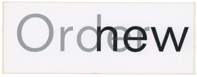Low-life Promotional Sticker. New Order.