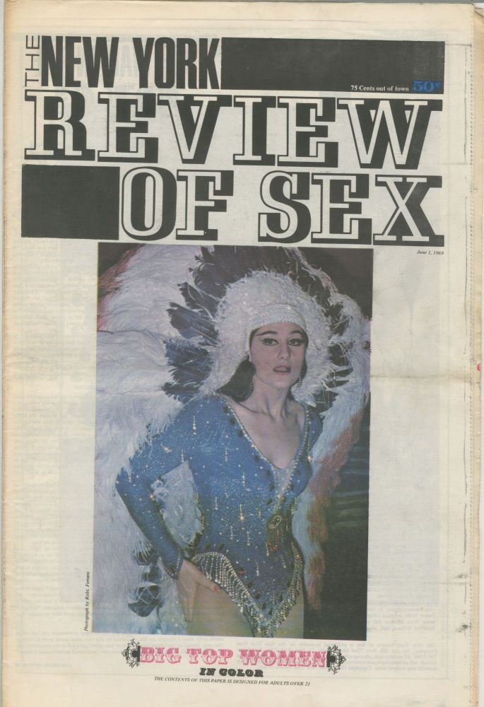 The New York Review of Sex, Vol. 1 No. 6, June 1, 1969. S. Edwards, ed Steven Heller.